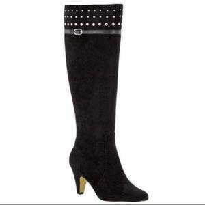 Bella Vita Taryn II Knee High Black Boots - Size 8